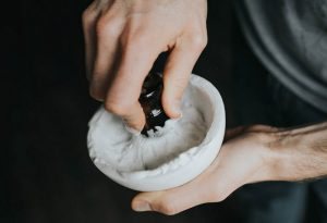 lather in shaving bowls