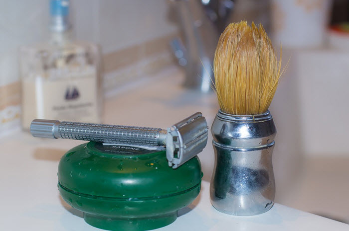 what is wet shaving